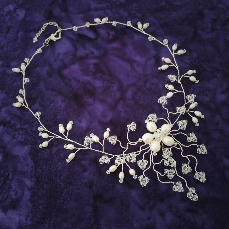 Pretty Wedding Necklace Design