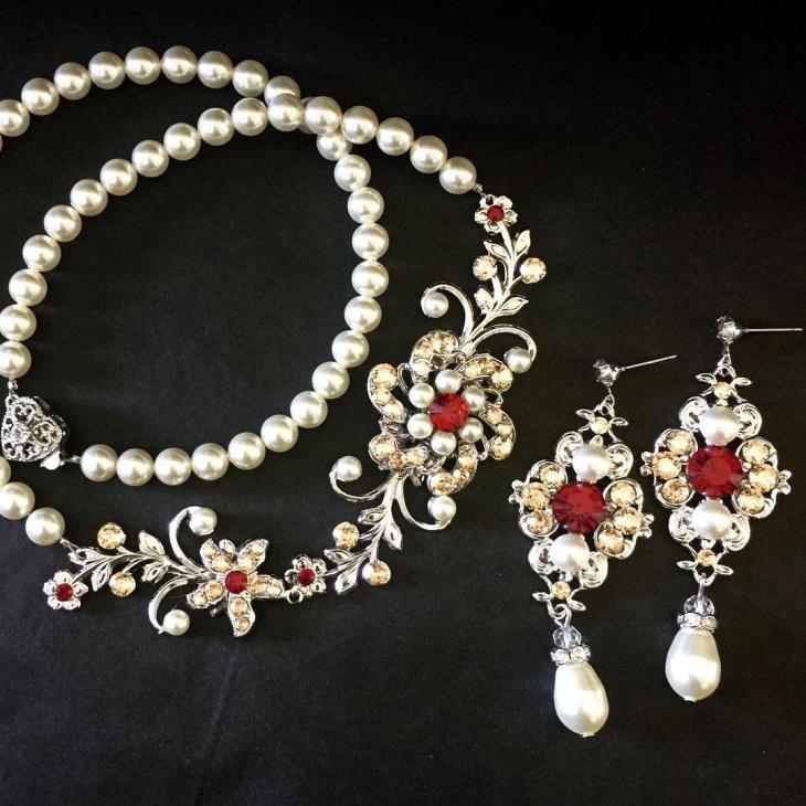 Handmade Wedding Jewelry Design