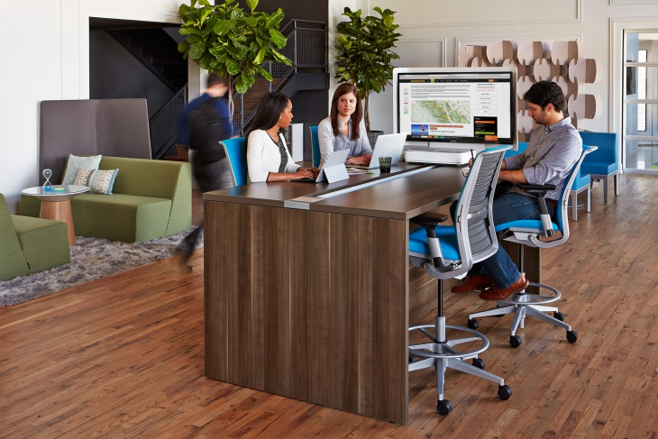 office wooden table design