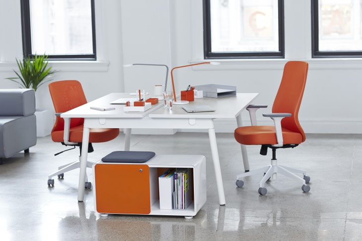 Height Adjustable Office Table Design