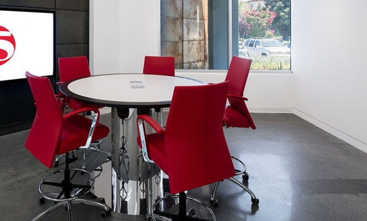 round office table design