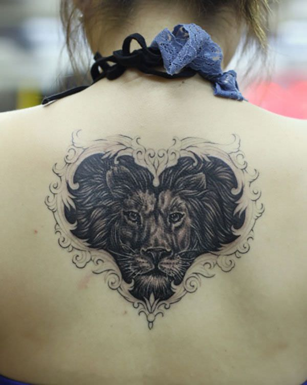 lion And love Tattoo Designs