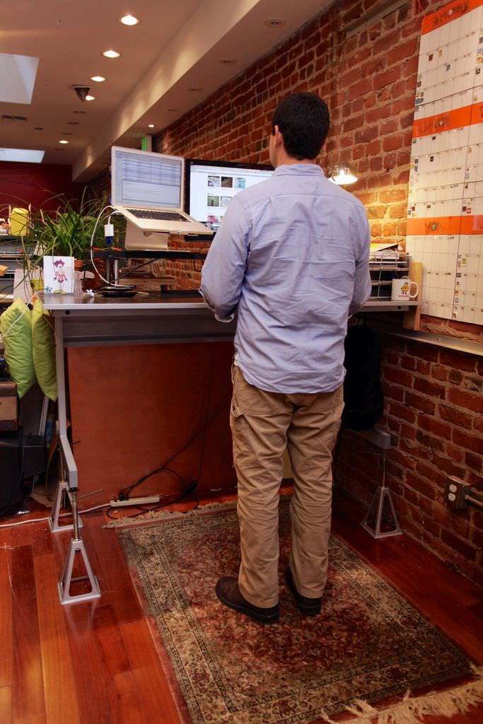 Standing Work Space Desk