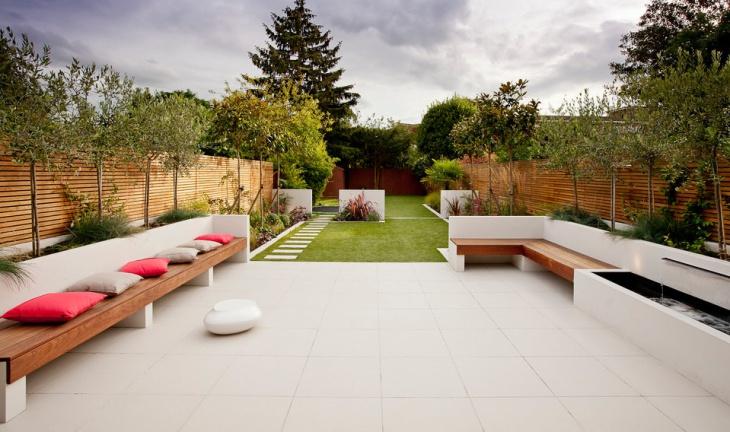Luxurious Contemporary Garden Landscape