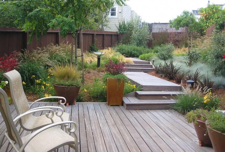 Contemporary Patio Landscape Design
