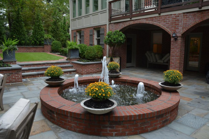 Formal Garden Water Fountain