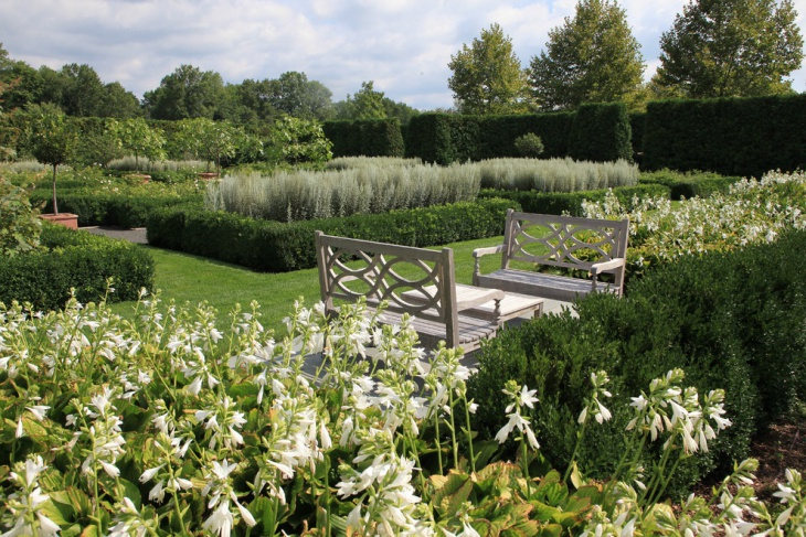 Rustic Formal Garden Furniture
