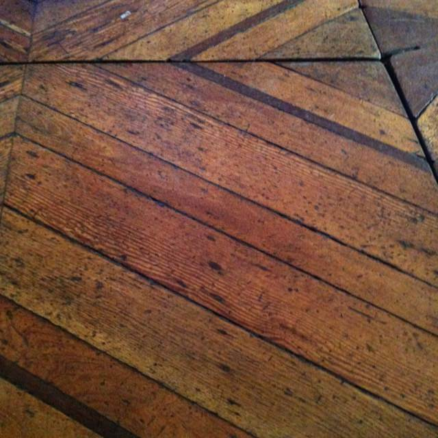 old cut floor