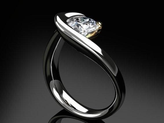 Palladium Diamond Ring Design