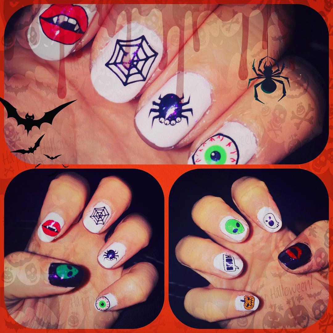 Halloween nailart
