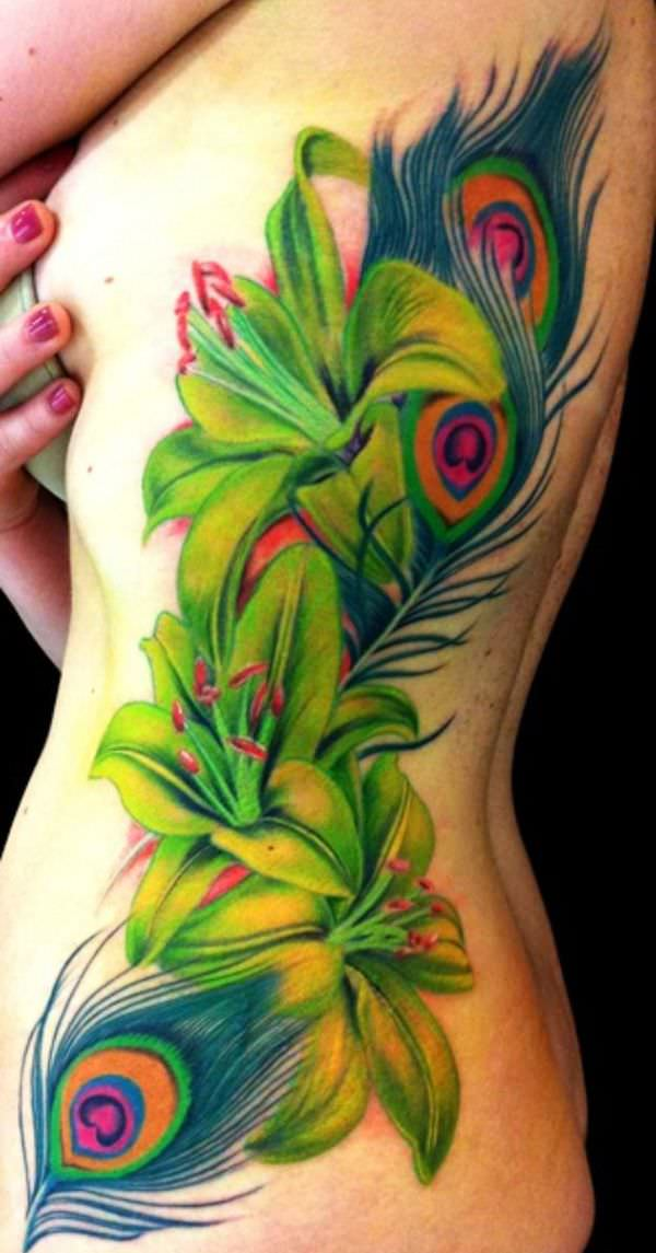 Flower Tattoo Design