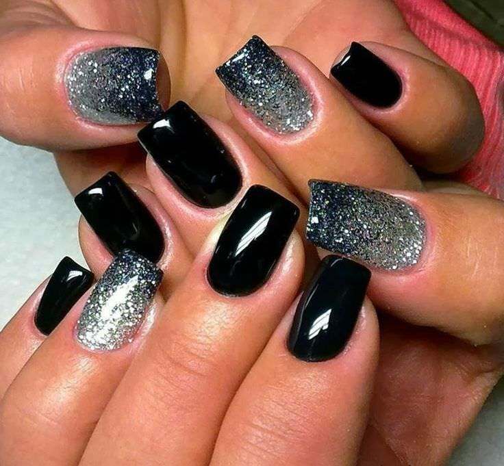 pretty gel nails design