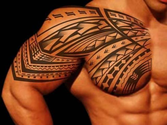 Play Boy Tribal Tattoo Design