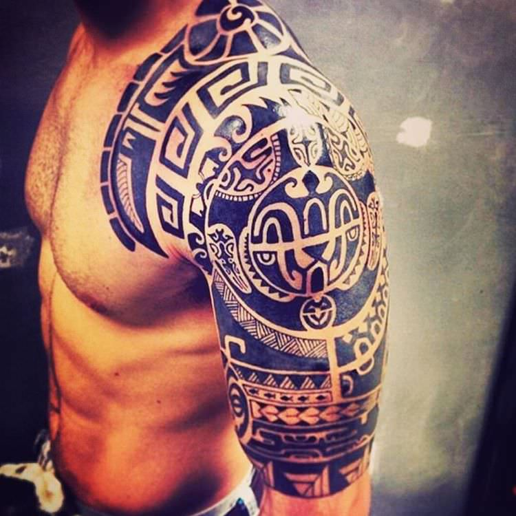 Sepehr Tribal Tattoo Design