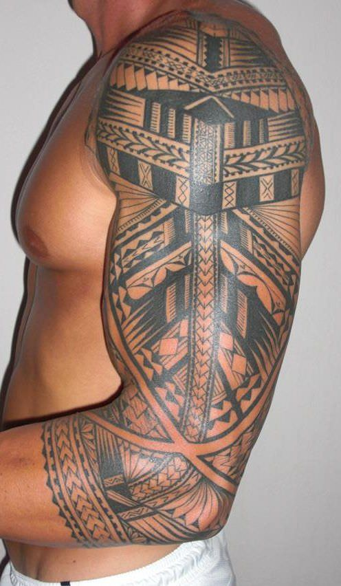 Polynesian Tribal Tattoo Designs