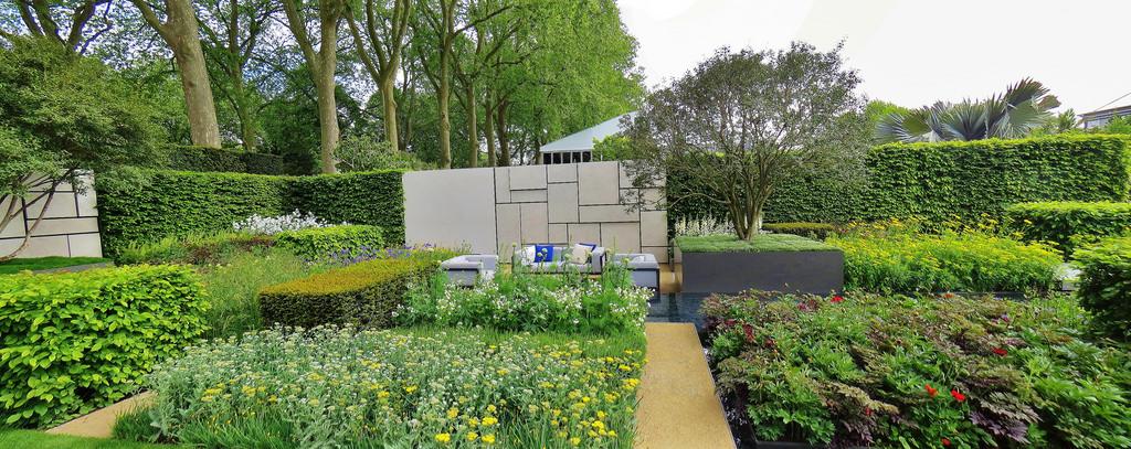 chelsea shade garden design