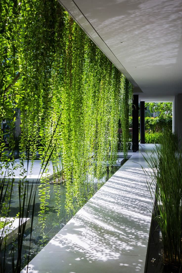 Naman Spa Shade Garden Design