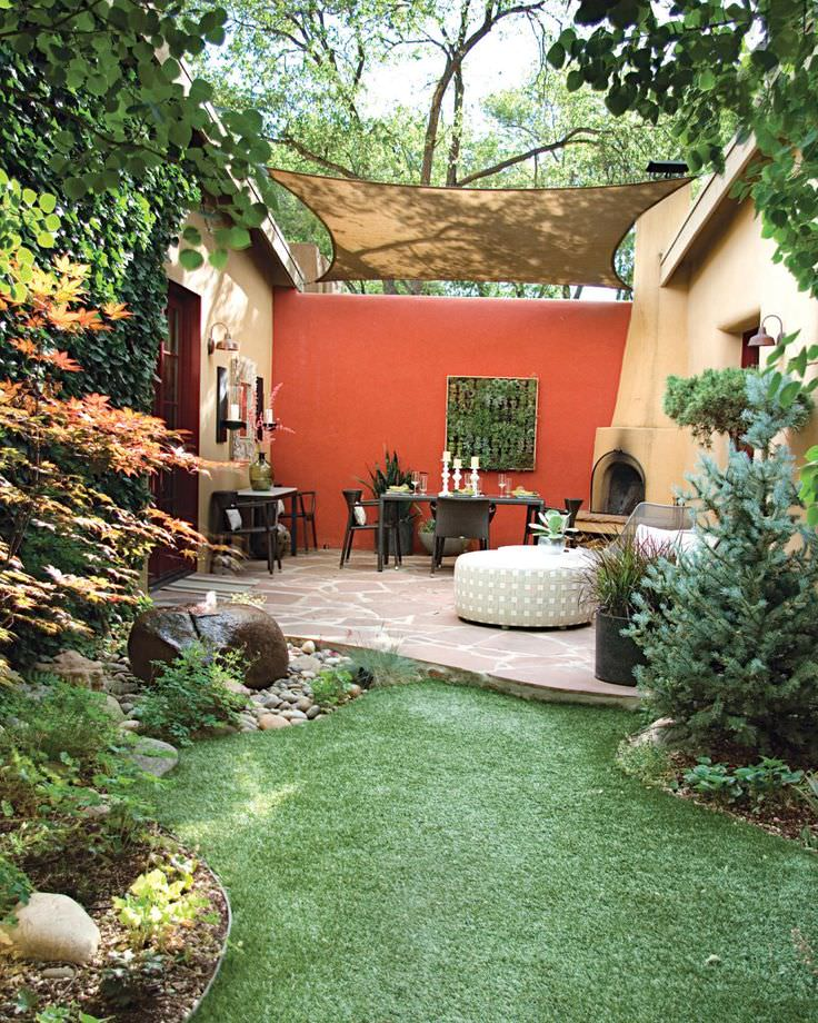 Living Shade Garden Design