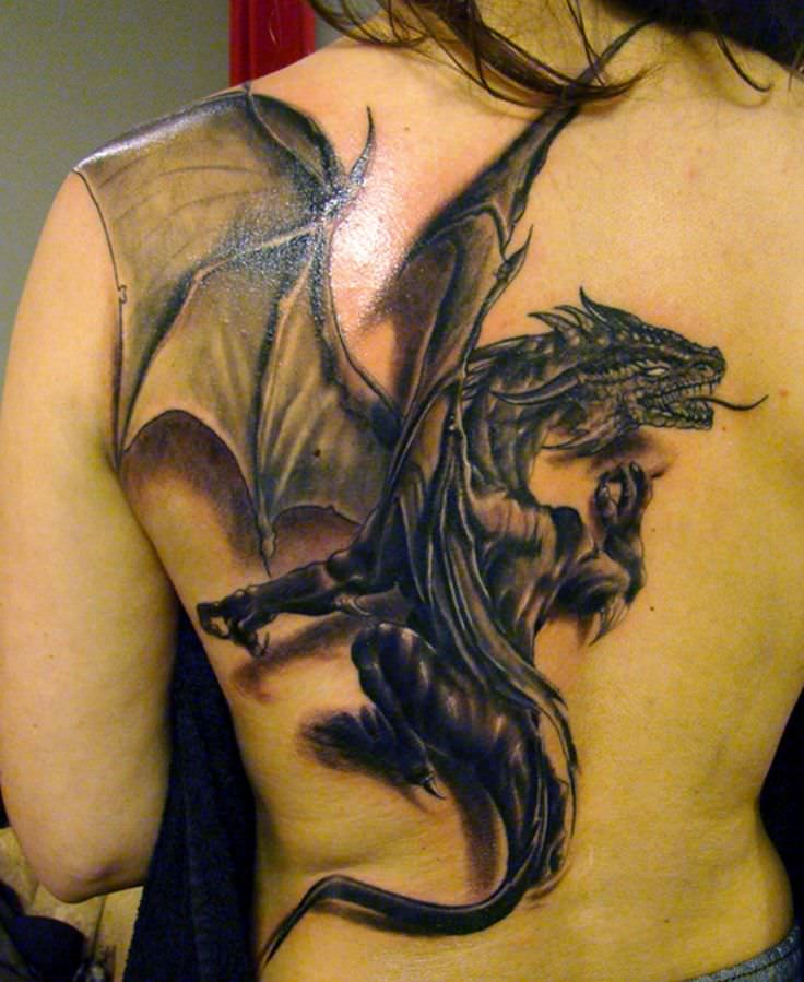 Amazing Dragon Tattoos Designs