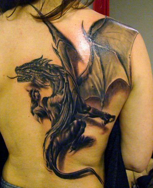 Wow Dragon Tattoos Designs