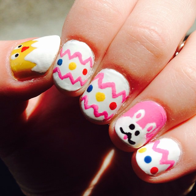 beautiful easter nails