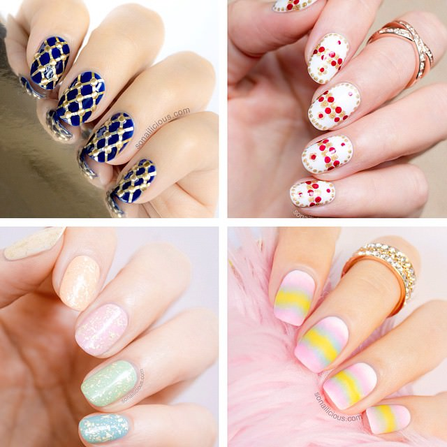 simple easter nail designs