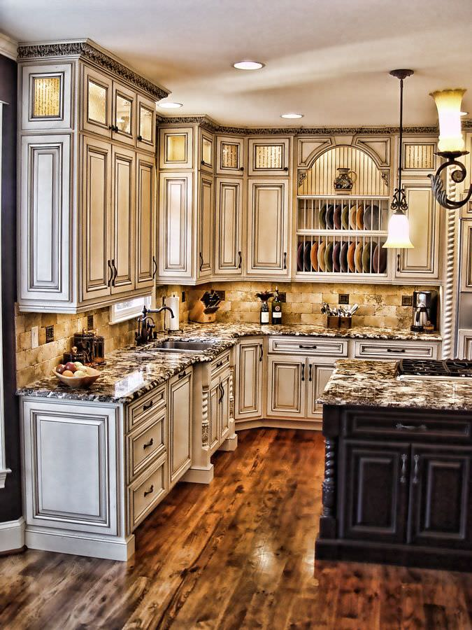 Old World Kitchen Cabinet Kitchen Cabinets Designs