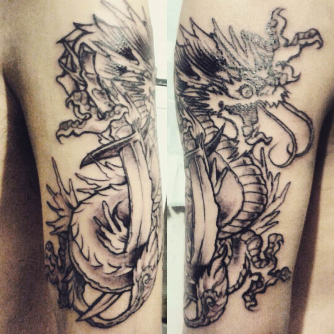 Emiro Dragon Tattoo Design