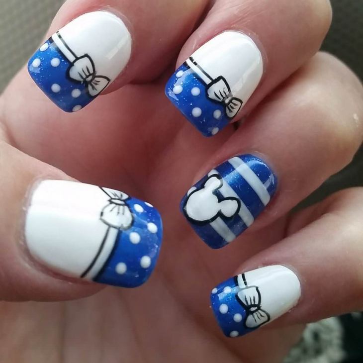 Week End Disney Nail Design