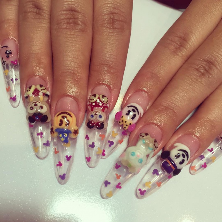 max long disney nail design1