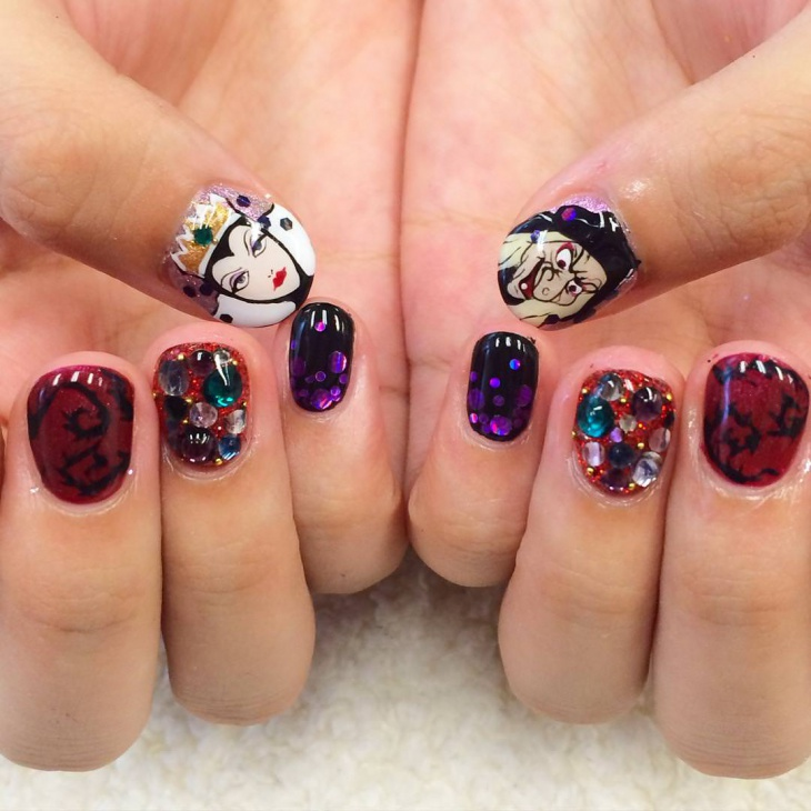 best disney nail design1