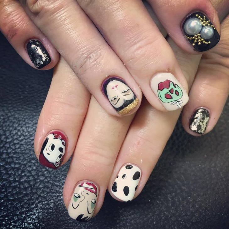crue disney nail design1