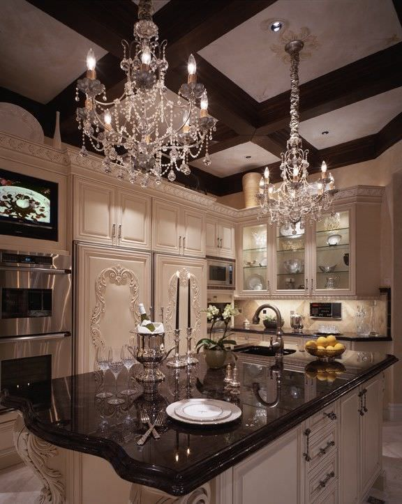 Elegant Kitchen Cabinet