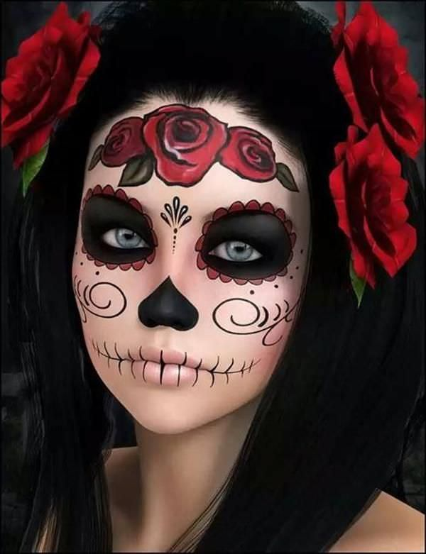 halloween makeup design
