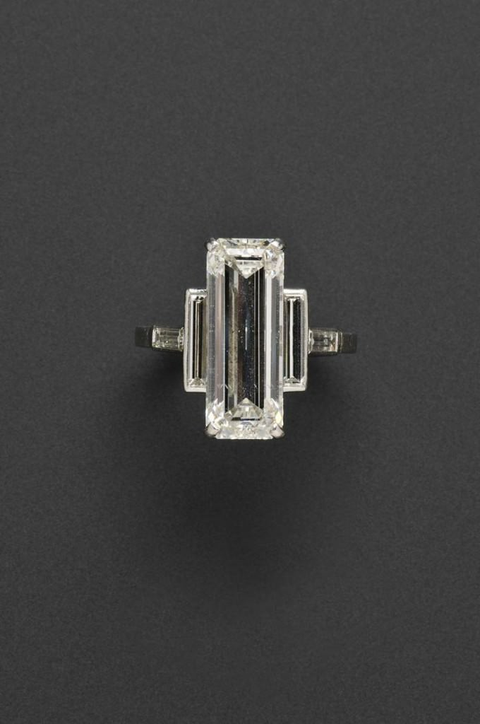Diamond Cartier Ring