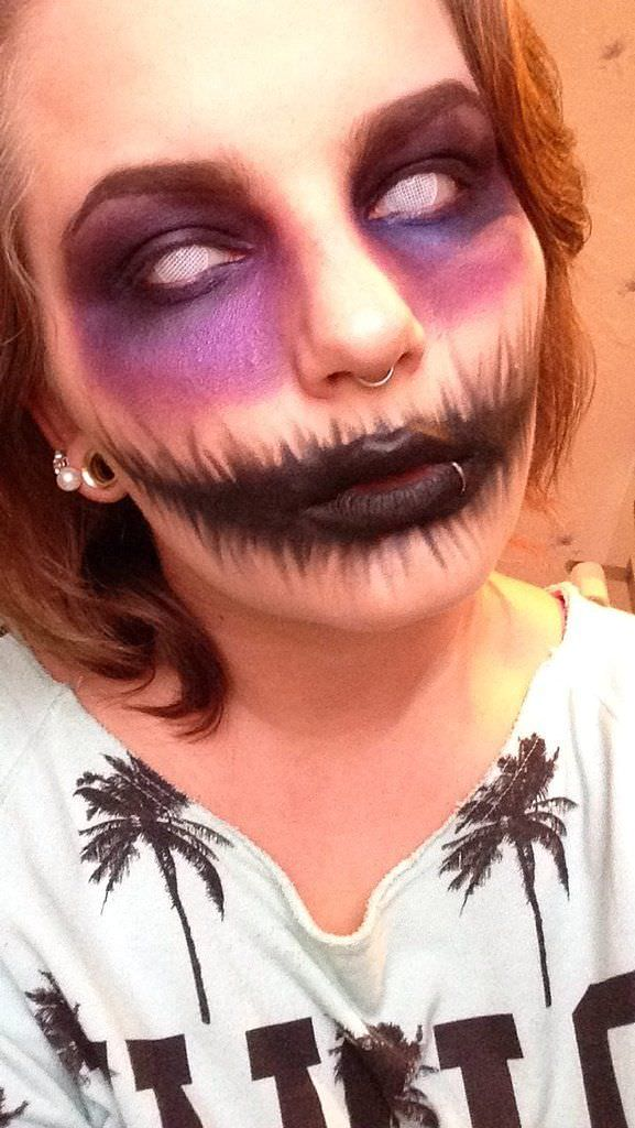 Halloween makeup design 1