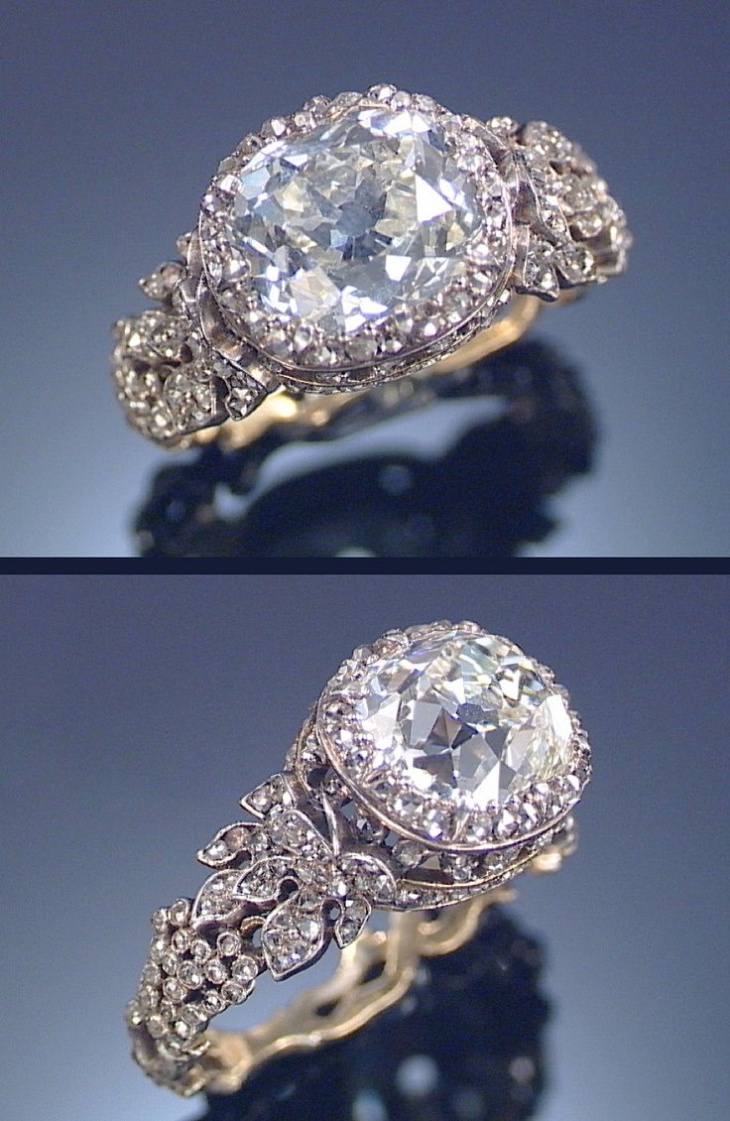 19th Century Diamond Ring Design