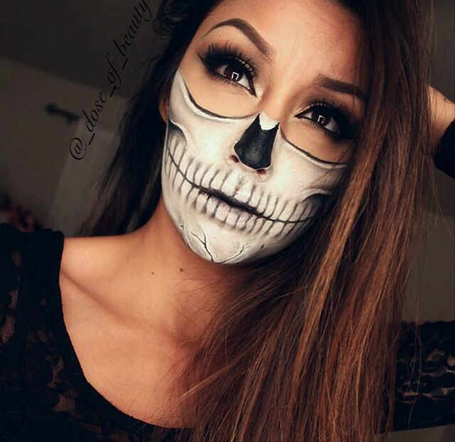 58+ Halloween Makeup Designs Ideas For Women Men And Kids | Design Trends - Premium PSD ...