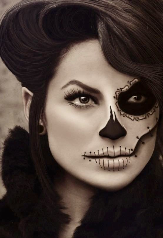 halloween makeup trends 1