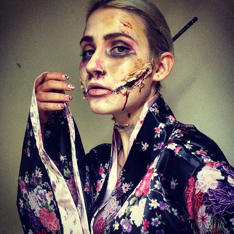 Halloween makeup trends 3