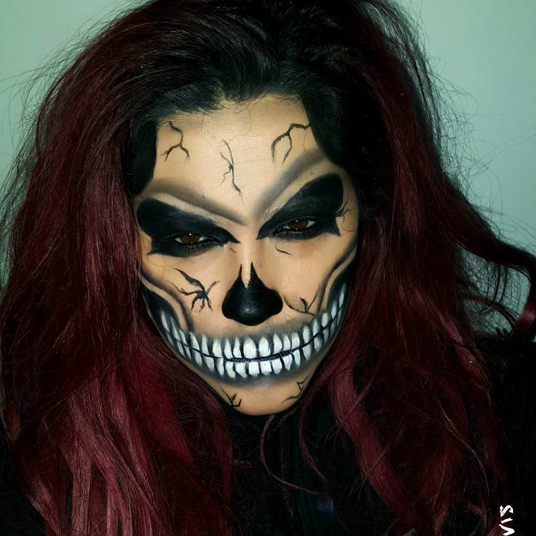 Halloween makeup design trends