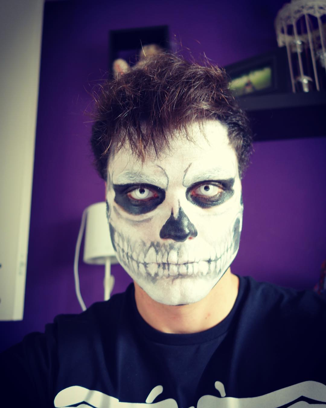 Halloween makeup design for men