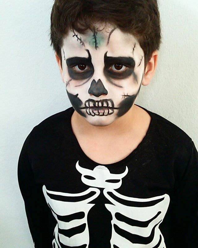 Halloween makeup for kids 2015