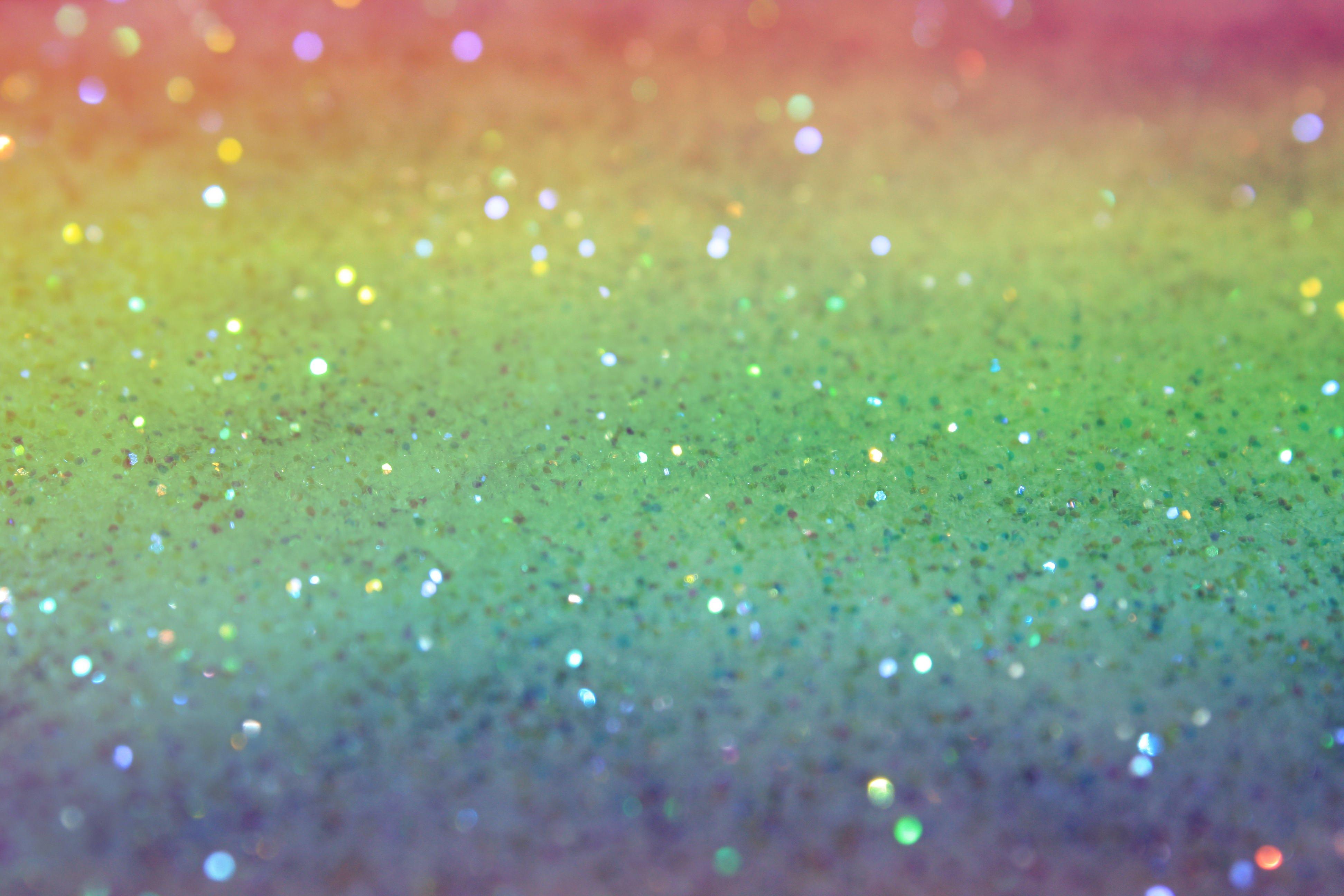 Rainbow Glitter Textures