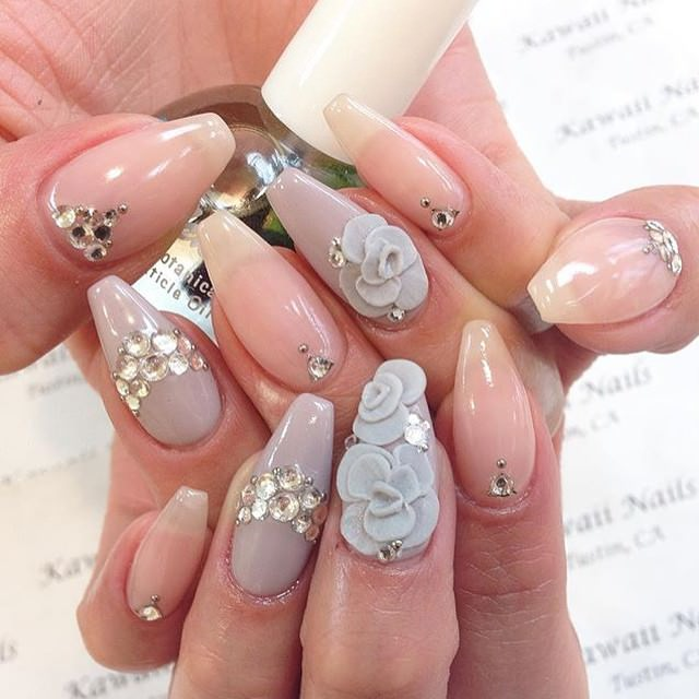 129 acrylic nail art designs ideas design trends premium psd acrylic nail designs prinsesfo Images