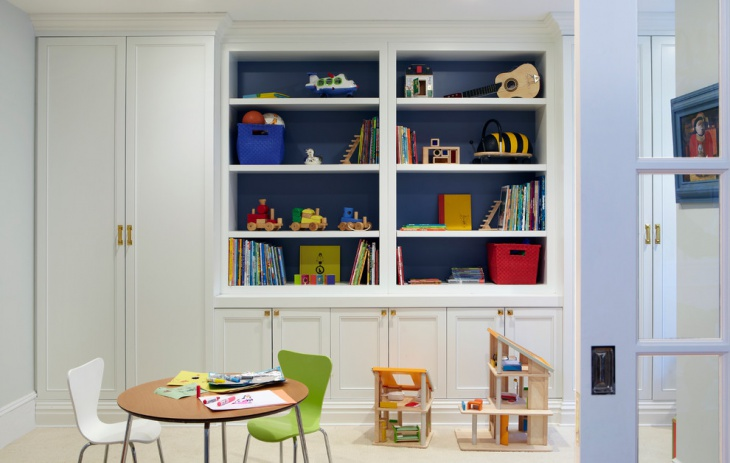 Kids Room Interior Cabinets Designs