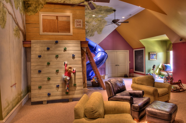 Playful Kids Room Interior Ideas