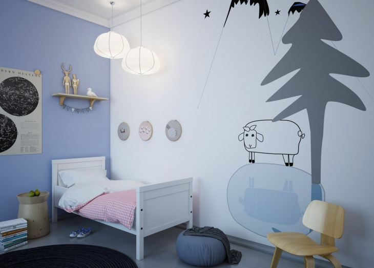 Cheerful Kids Wallpaper Design