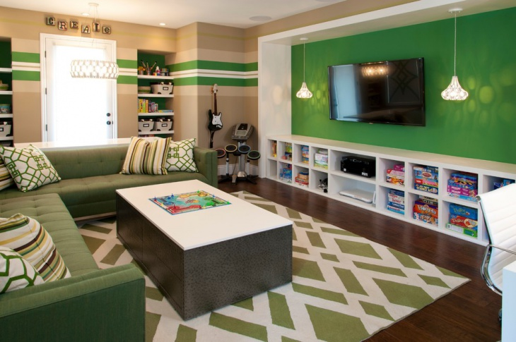 Children Living Room Decor Idea