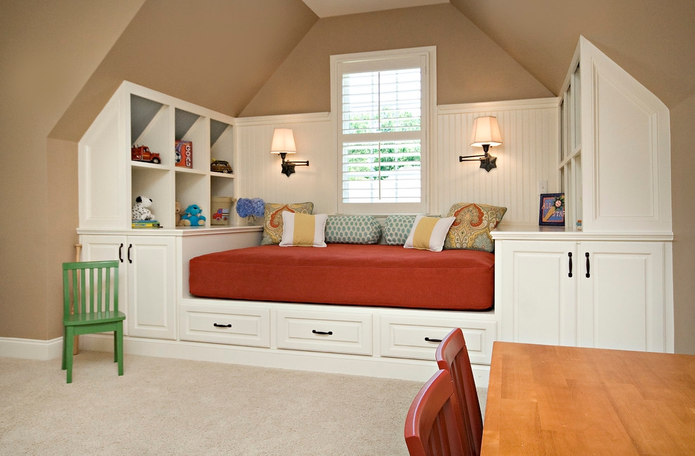 Classy Kids Living Room Idea